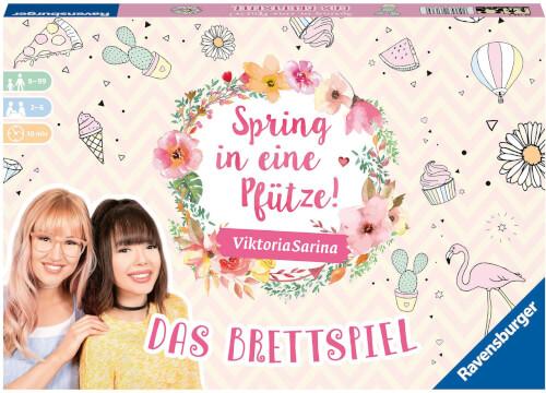 Ravensburger 26136 Spring in eine Pfütze - Das Brettspiel für Beste Freundinnen