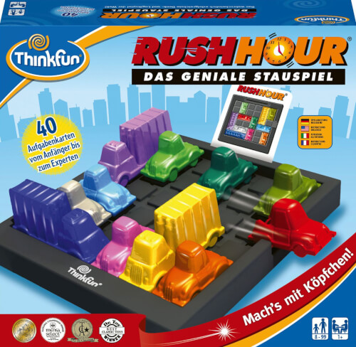 Ravensburger Thinkfun 763016 Rush Hour®