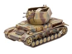 REVELL 03267 Modellbausatz Flakpanzer IV Wirbelwind (2 cm Flak 38) 1:72, ab 12 Jahre