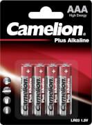 Camelion Batterien Micro AAA Alkaline 4er Blister
