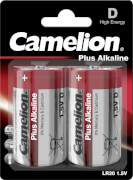 Camelion Batterien Mono D Plus-Alkaline, 1,5V, 2er Blister