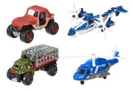 Mattel Matchbox Jurassic World Land- & Lufteinsatz