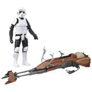 Hasbro B3917EU6 Star Wars Rogue One Figur mit Fahrzeug