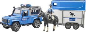 Bruder 02588 Land Rover Defender Polizeifahrzeug