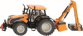 SIKU 3659 FARMER - Traktor mit Kuhn Böschungsmähwerk, 1:32, ab 3 Jahre