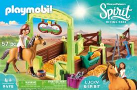 Playmobil 9478 Pferdebox ''Lucky & Spirit