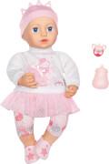 Zapf 702857 Baby Annabell Sweet Dreams Mia 43 cm, mit Schlafaugen