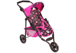Bayer Chic 2000 Puppem-Joggingbuggy Lola Pinky Balls, Modell 61268 ab 3 Jahre