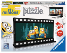 Ravensburger 112029  3D Puzzle Filmstreifen Minions 108 Teile