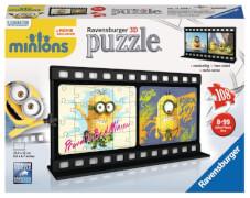 Ravensburger 112081  3D Puzzle Filmstreifen Minions Natural 108 Teile