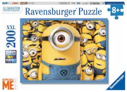 Ravensburger 128365 Puzzle Minions sind los 200 Teile