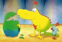 Schmidt Spiele Kinderpuzzle Unterwegs mit Molly Monster, 3x24 Teile