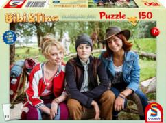 Schmidt Puzzle 56234 Bibi & Tina, Puzzle zum Film 4, Bibi, Tina und Adea, 150 Teile, ab 7 Jahre