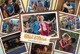 Schmidt Puzzle 56237 Bibi & Tina, Puzzle zum Film 4, Freundinnen für alle Fälle, 200 Teile, ab 8 Jahre