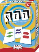 AMIGO 03703 SET, Kartenspiel, für 1-8 Spieler, Spieldauer: ca. 20 Min, ab 8 Jahren