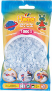 HAMA 207-19 Bügelperlen Midi - Leuchtblau 1000 Perlen, ab 5 Jahren