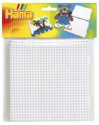 HAMA Bügelperlen Midi - 2er Set Stiftplatten im Beutel - 2x Multi Quadrate