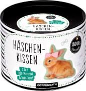 Häschen-Kissen - DIY-Material & Deko-Dose (100% selbst gem.)