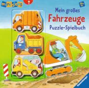 Ravensburger 040353  ministeps® - Mein großes Fahrzeuge Puzzle-Spielbuch