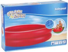 Splash & Fun Baby-Pool uni mit aufblassbaren Boden, # 85 cm, ab 3 Jahren