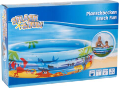 Splash & Fun Planschbecken Beach Fun, Ø 140 cm