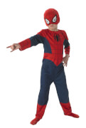 Kostüm Spiderman 3tlg Flat Child Gr.L