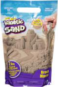 Spin Master Kinetic Sand Colour Bag Braun 907 Gramm