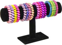 Rolli-Arm- und Haarbänder gerollt (4 Stück)
