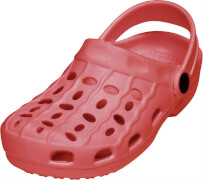 Playshoes EVA-Clog Basic, rot, Gr. 24/25