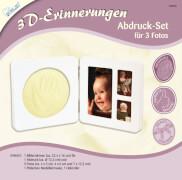 3D Erinnerungen - Abdruck-Set für 3 Foto