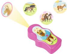 Lampe 3 in 1, Mein kleiner Ponyhof, für Kinder, mit Timerfunktion